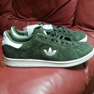 NWT ADIDAS STAN SMITH SUEDE TRAINERS